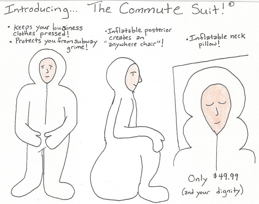 the commute suit