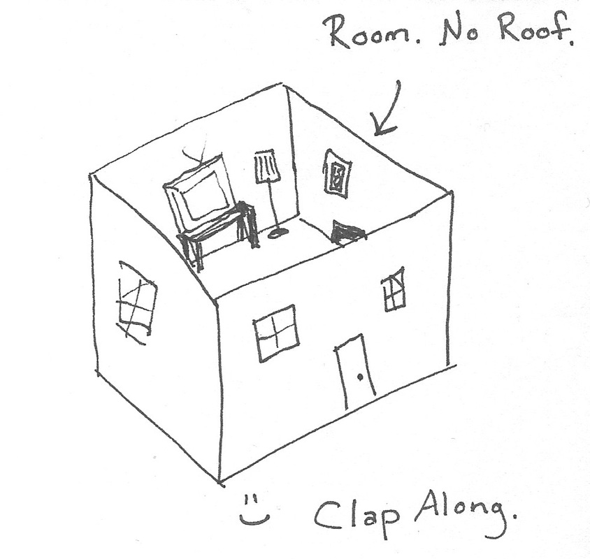 room without a roof