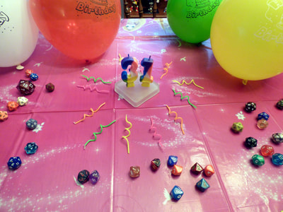 "closeup on ""31"" party candles"