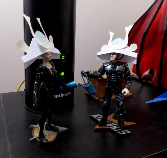 New Borg agenda: heavy drinking and fancy origami party helmets